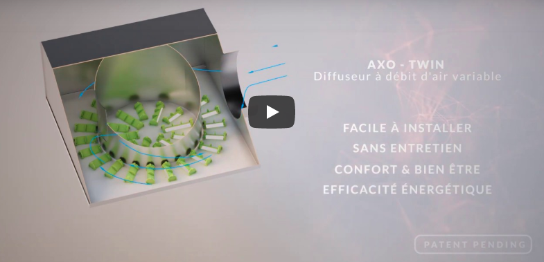 Diffuseur AXO-TWIN à haute induction